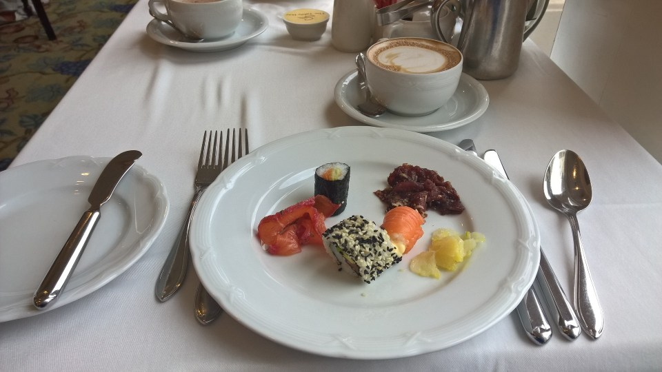 The Table Bay Hotel Cape Town Breakfast