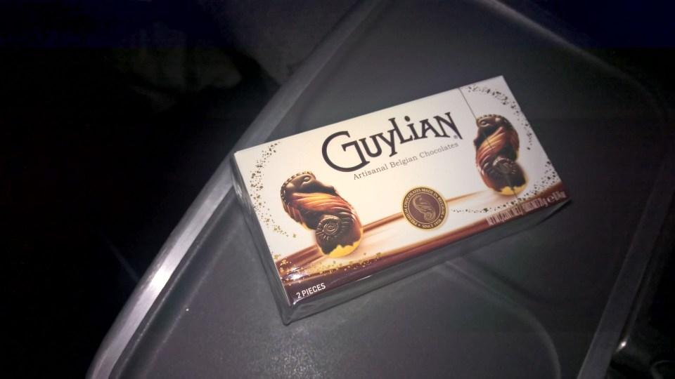 Lufthansa Business Class Chocolates