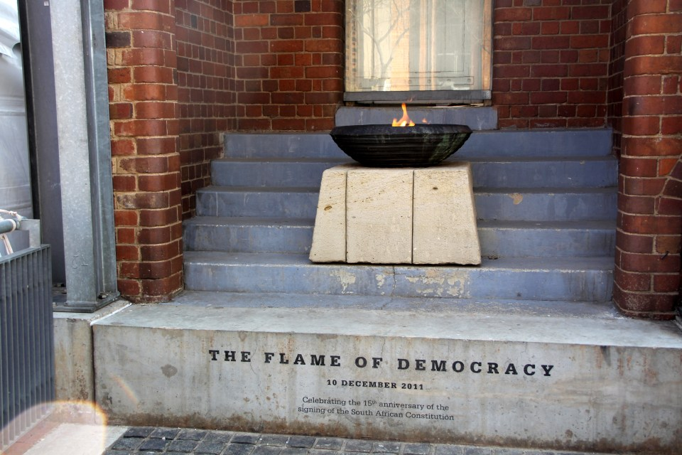 Flame of Democracy Johannesburg