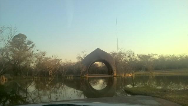 Zulu Camp at Shambala Entrance