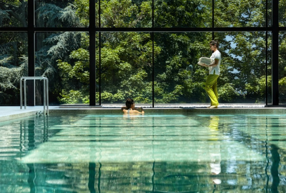 Six Senses Douro Valley Indoor Pool