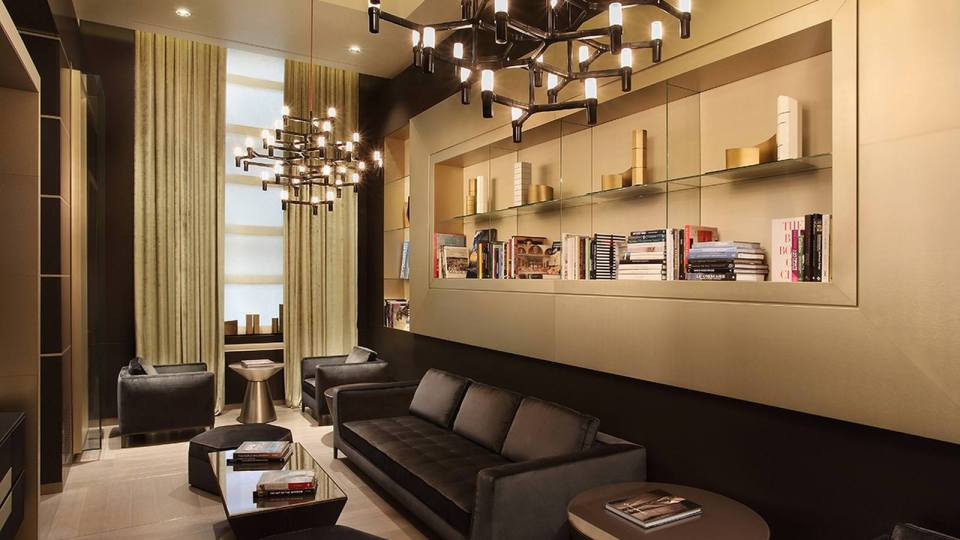 Excelsior Hotel Gallia Milan Library