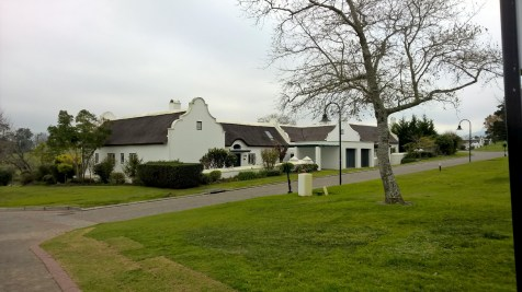 Running at Fancourt