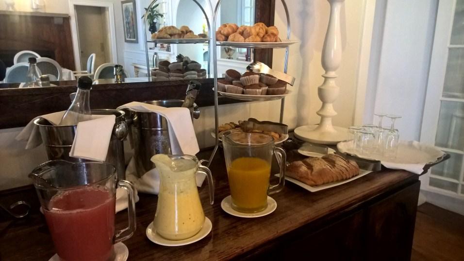 Manor House at Fancourt Breakfast