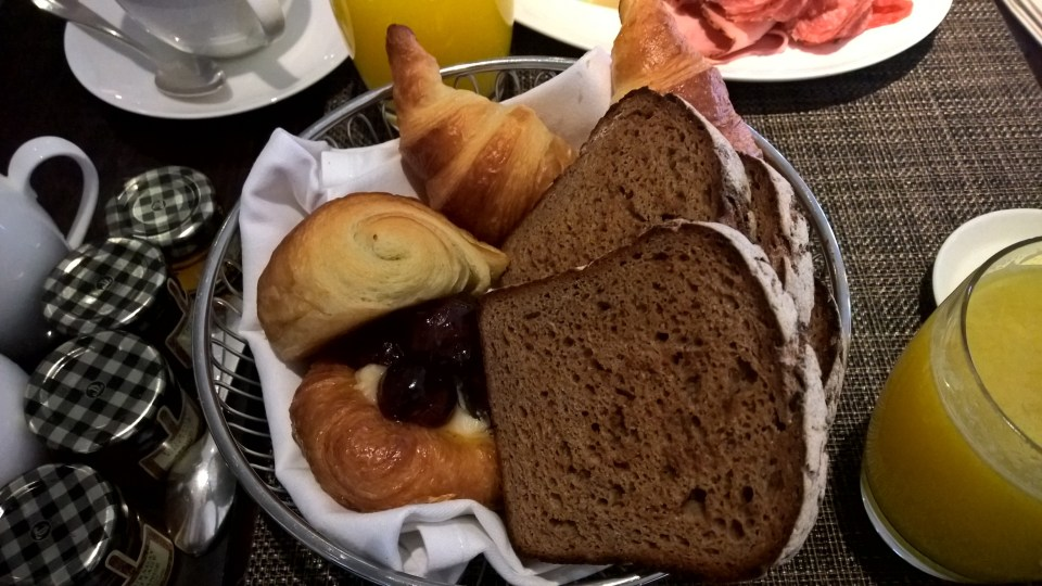 One Aldwych London Breakfast