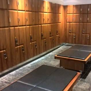 One Aldwych London Changing Rooms