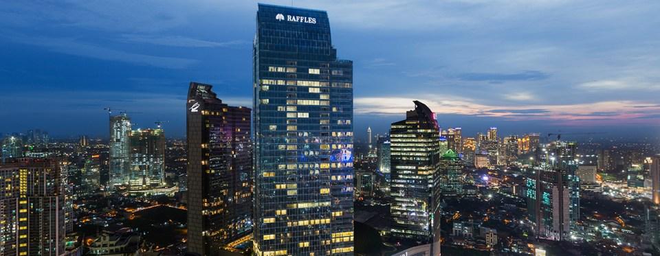 Raffles Jakarta Exterior