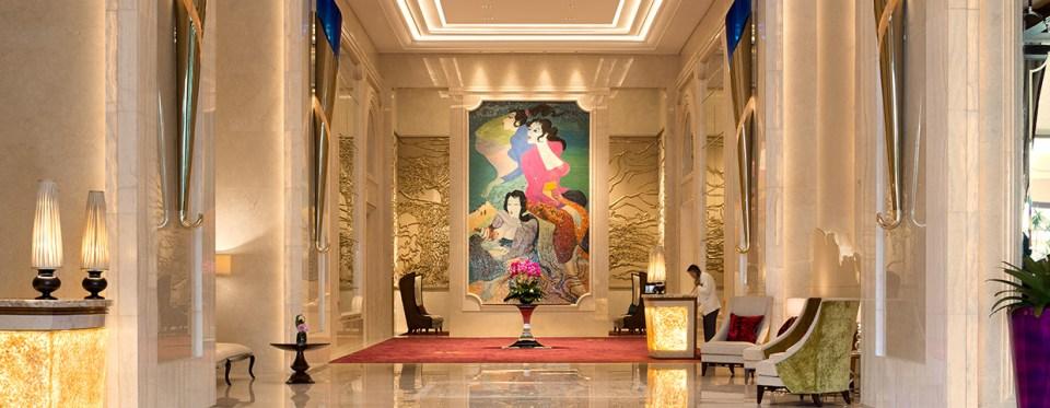 Raffles Jakarta Lobby