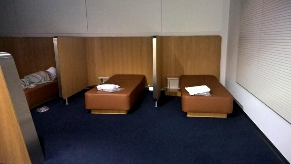 Lufthansa Senator Lounge Frankfurt Sleeping Pods