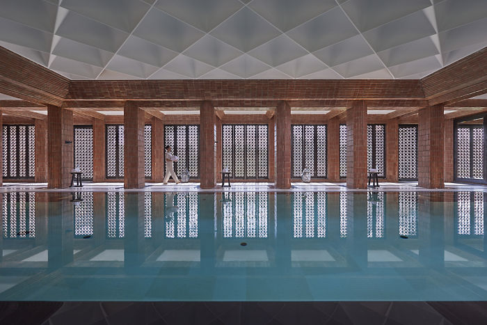 Mandarin Oriental Marrakech Spa Pool