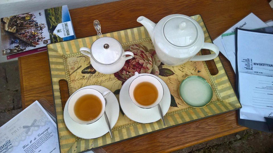 The Hideaway Swellendam Welcome Tea