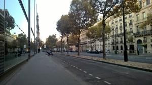 Running in Paris Avenue Kleber