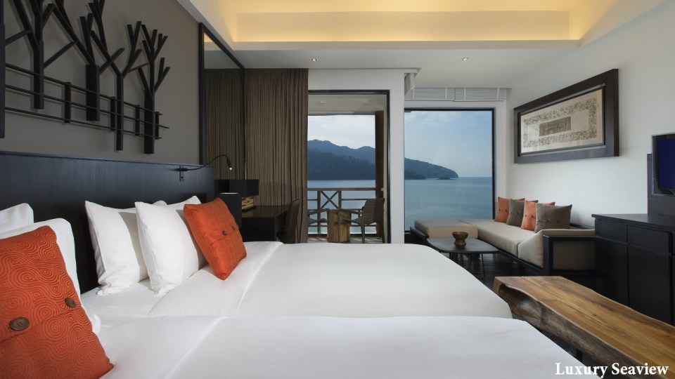 The Andaman Langkawi Luxury Seaview Room