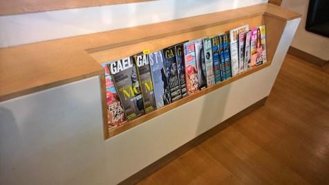 SAS Lounge Brussels Magazines
