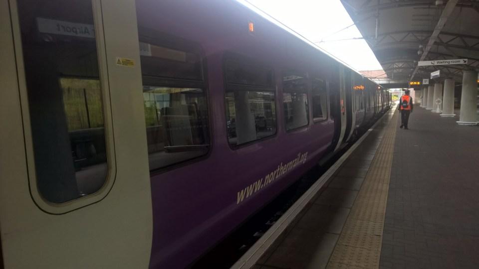 Train Manchester Airport