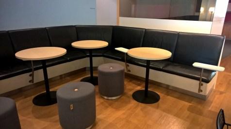 SAS Lounge Brussels Seating