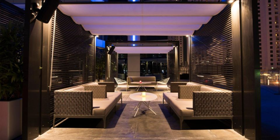 InterContinental Dubai Marina Urban Shisha Lounge