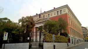 Running in Madrid Museo del Prado