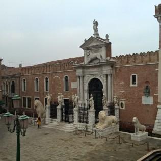 Running in Venice