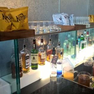 BA Galleries Lounge North London Heathrow Buffet