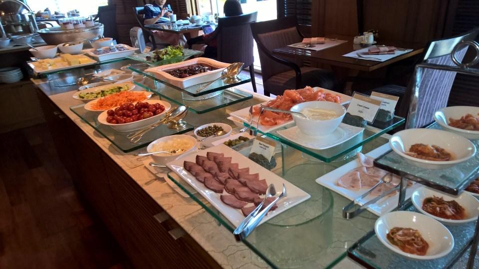 Conrad Bangkok Breakfast