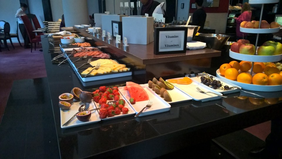 Sofitel Brussels Europe Breakfast