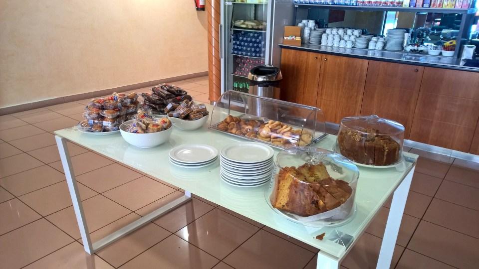 Buffet Sala VIP Galdos Gran Canaria
