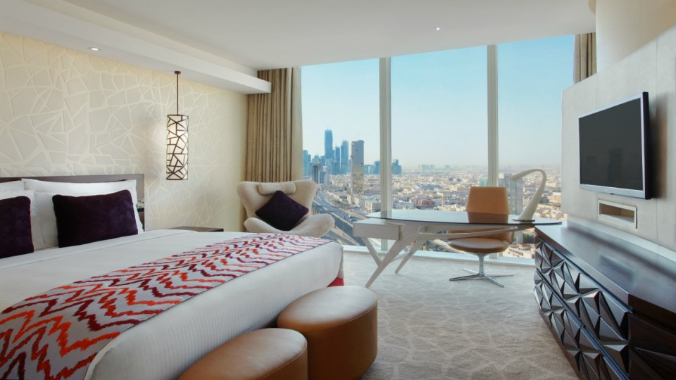 Burj Rafal Kempinski Riyadh Deluxe Room