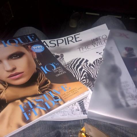 Etihad First Class Magazines