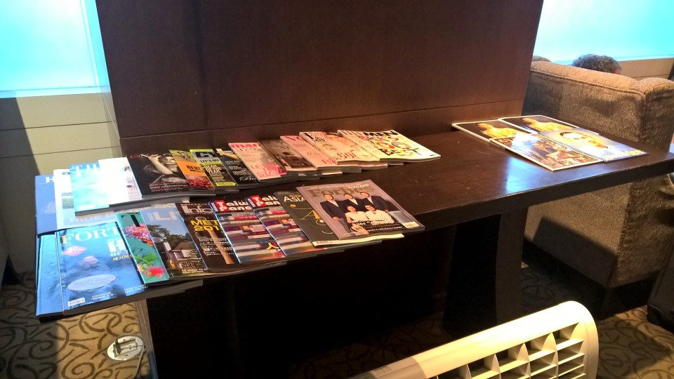 Thai Royal First Lounge Bangkok D Magazines