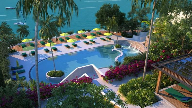 The Nai Harn Phuket Sail Swimming Pool