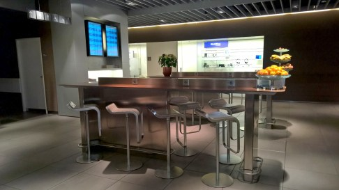 Lufthansa Senator Lounge II Munich Seating