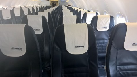 Aegean Airlines Seating