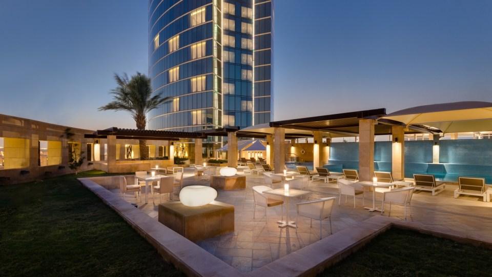 Burj Rafal Kempinski Riyadh Skylight