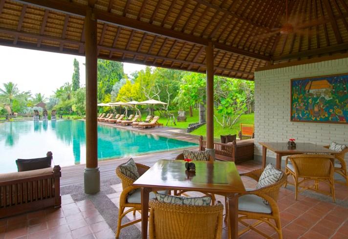 The Chedi Club Tanah Gajah Pool Pavilion