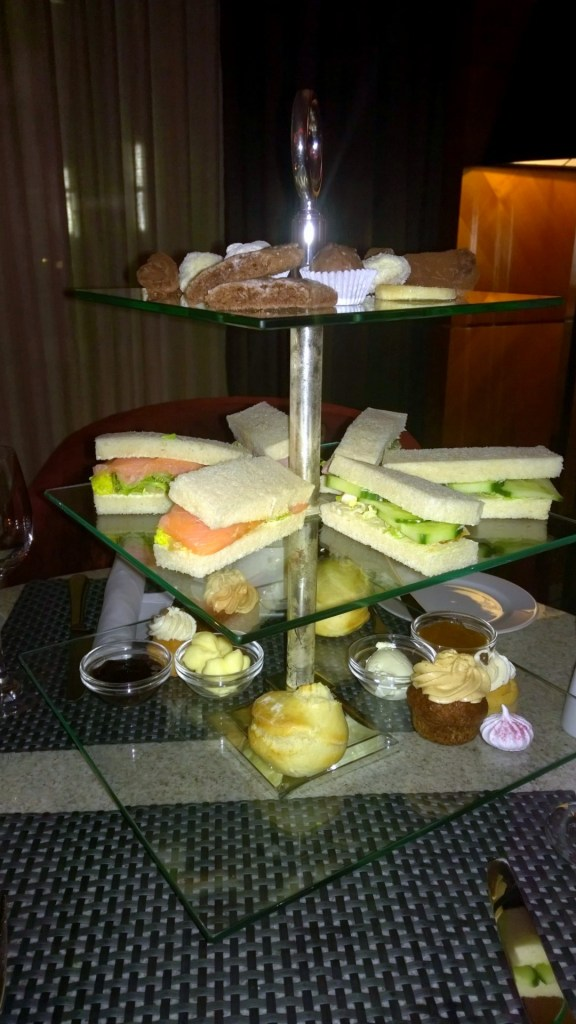 That's what the Afternoon Tea looks like