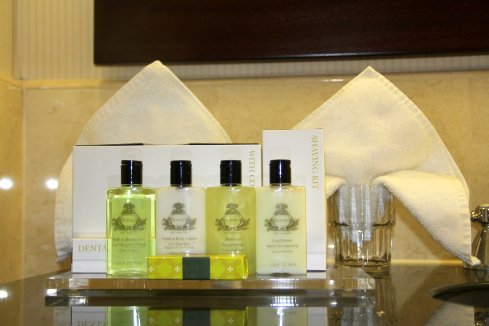 Toiletries InterContinental Warsaw
