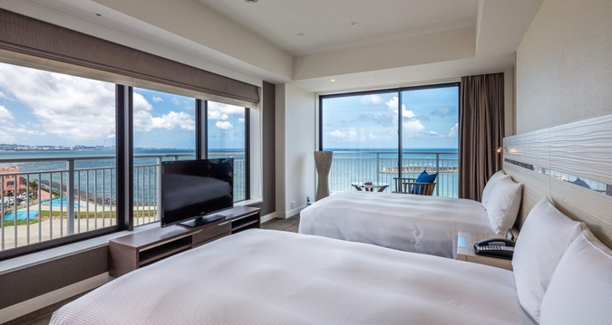 Hilton Okinawa Chatan Resort Twin Room