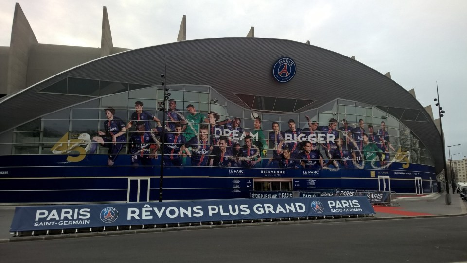 Parc de Princes Paris
