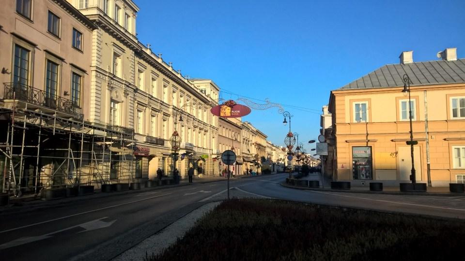Running in Warsaw