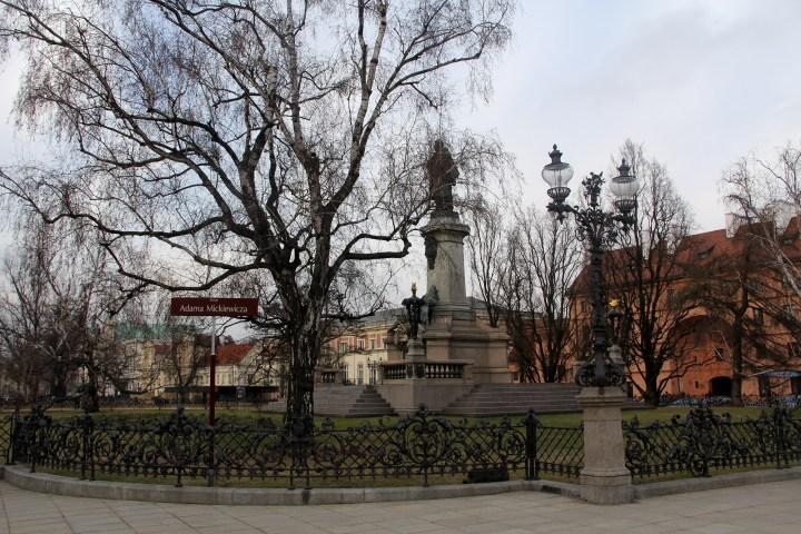Adama Mickiewicza Warsaw