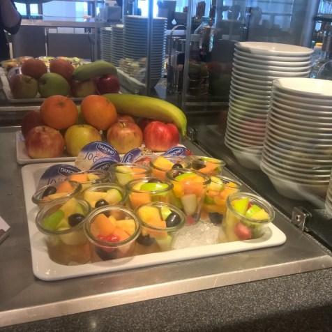 Lufthansa Business Lounge Berlin Buffet