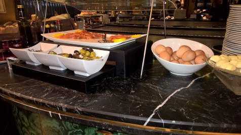 Gran Melia Fenix Madrid Breakfast
