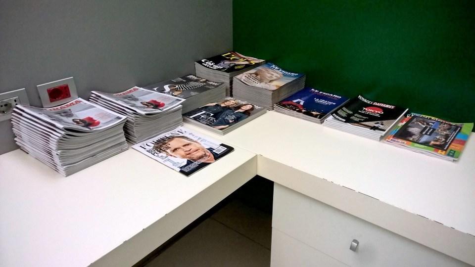 Alitalia Tintoretto Lounge Venice Magazines