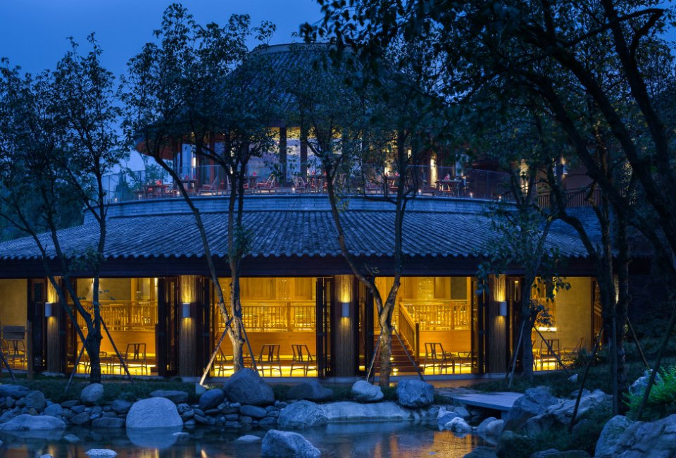 Six Senses Qing Cheng Mountain Moon Bar