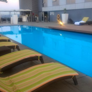 Radisson Blu Sandton Outdoor Pool
