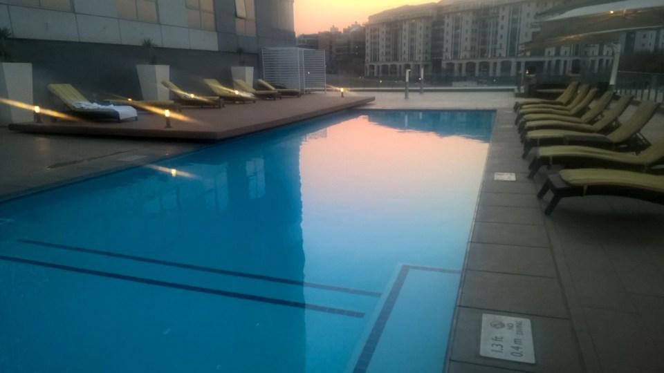 Radisson Blu Sandton Indoor Pool