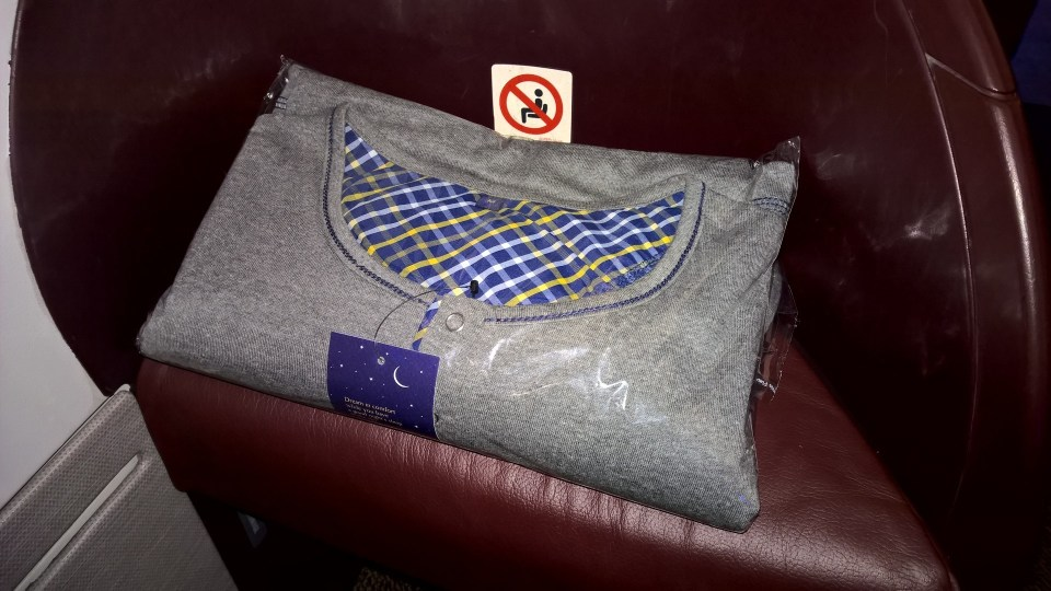 Jet Airways Business Class Pyjama