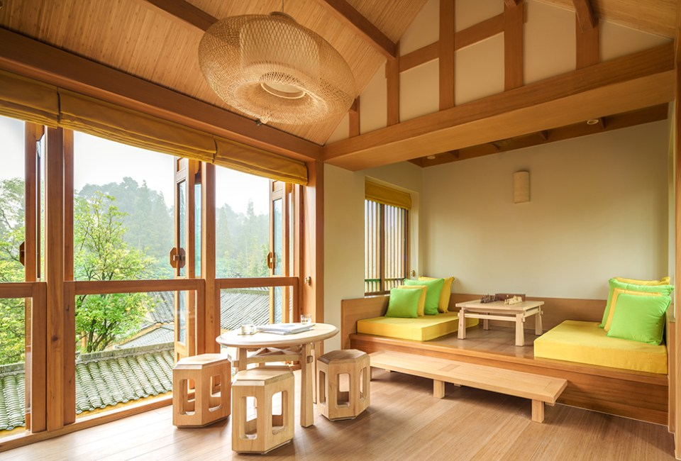 Six Senses Qing Cheng Mountain Two Bedroom Courtyard Villa