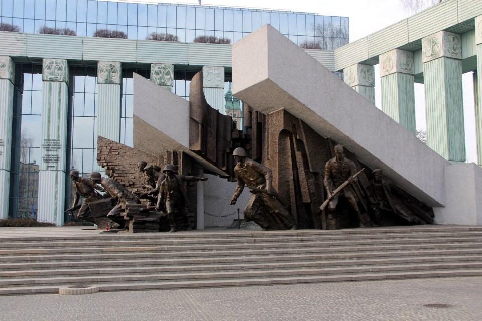 Uprising Monument Warsaw